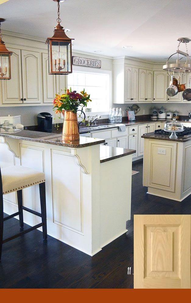 White Cabinets White Ice Granite White Kitchens in 2018 Kitchen