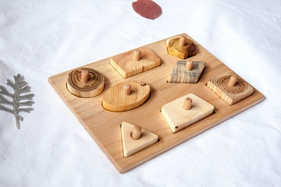 Wood Puzzle / Puzzle for Babies and Toddlers/ Montessori Toy