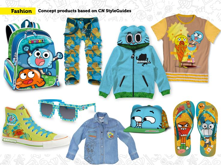 Concept Products - Cartoon Network Brasil on Behance