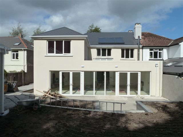 Image result for semi detached over garage extension upstairs wider than downstairs