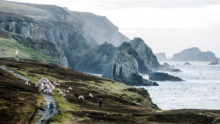 The fierce coastline of Ireland's County Donegal.