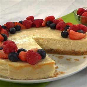 Quark New York cheesecake Recipe   delicious. Magazine free recipes