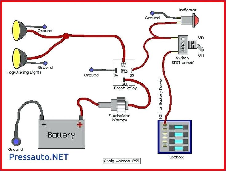 Diagram Ham Radio Page Industrial Latching Relay Wiring 5