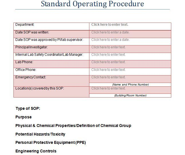 The 25+ best Standard operating procedure template ideas on - accounting manual template