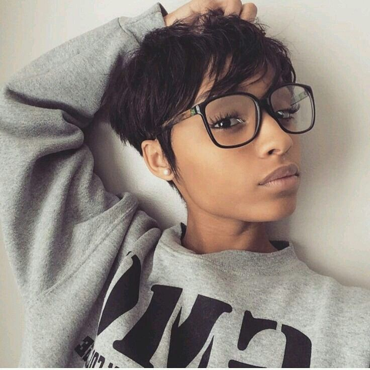 Groovy 1000 Ideas About Black Pixie Haircut On Pinterest Pixie Hairstyle Inspiration Daily Dogsangcom