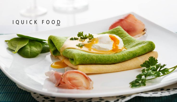 Check our Spinach Crepes Benedict out and discover a delicious, quick and easy breakfast that will surely make your day.