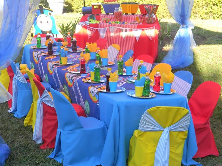 Thomas-the-Train kiddies party by Co-Ords Kidz Party Boutique