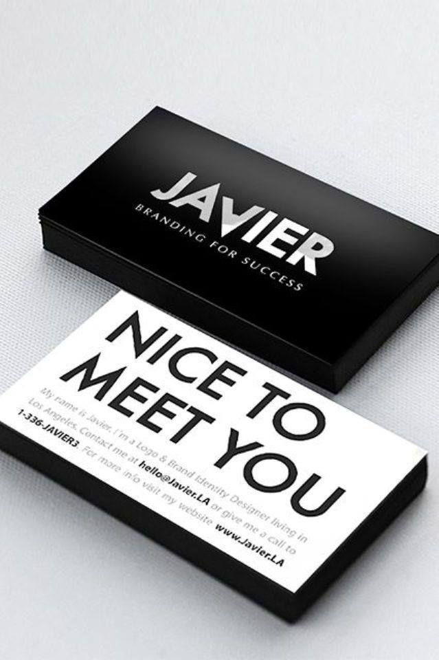 99 best business card design images on Pinterest   Business card ...