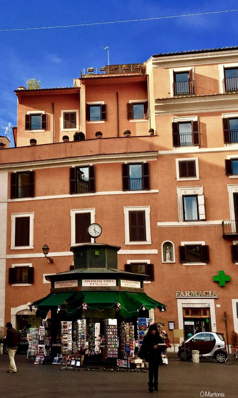 Piazza di San Lorenzo in Lucina,Rome,Lazio,Italy