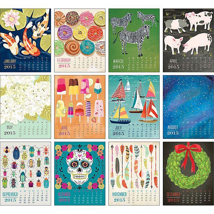 Art Easel Calendar : Best calendars images on pinterest paper source