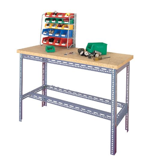 Workbench Made From Dexion Slotted Angle Slotted Angle