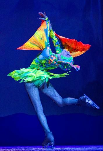 Iceploration, a brand new show at Busch Gardens Tampa.