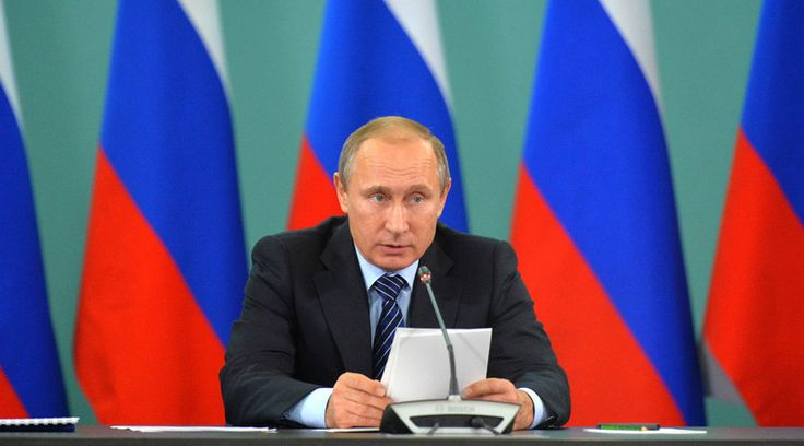 President Vladimir Putin says he's shared Russian intelligence data on Islamic State financing with his G20 colleagues: the terrorists appear to be financed from 40 countries, including some G20 member states.