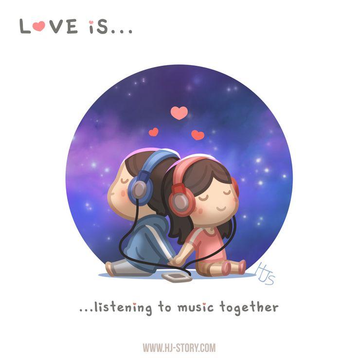 HJ-Historia »El amor es ... escuchar música juntos