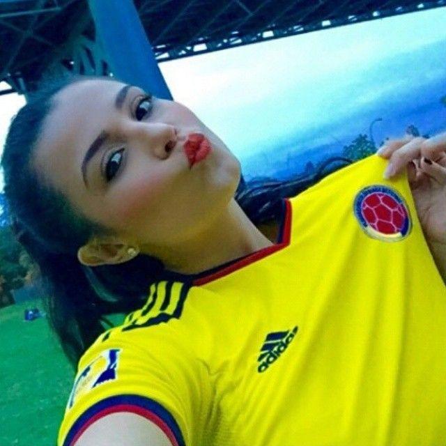 @pokajontasjenn #FuerzaColombia #VamosColombia @selcolombiafan #BellezaColombiana #SelColombiaFan #SeleccionColombia #CA2015  #UnidosPorUnPais #FCFMayores  #Colombia #FootballGirl #SoccerBabe #MiSeleccion #Adidas #Futbol #Soccer #SeValeSoñar #CopaAmerica #Chile2015 #CopaAmericaChile2015 #EliminatoriasSudamericanas #EliminatoriasSuramericanas #WorldCup #FIFA #Rusia2018 #Falcao #James