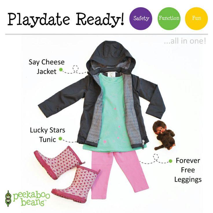 Splashin' in puddles Bean | Peekaboo Beans - playwear for kids on the grow! |  Shop On-Vine at www.peekaboobeans.com/nonaj