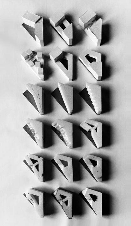 Variations-  architectural model - data architectes