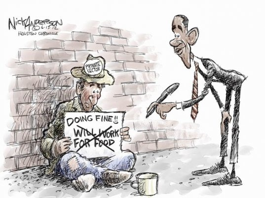 Political cartoons of the week: A cynical Obama political gambit ...