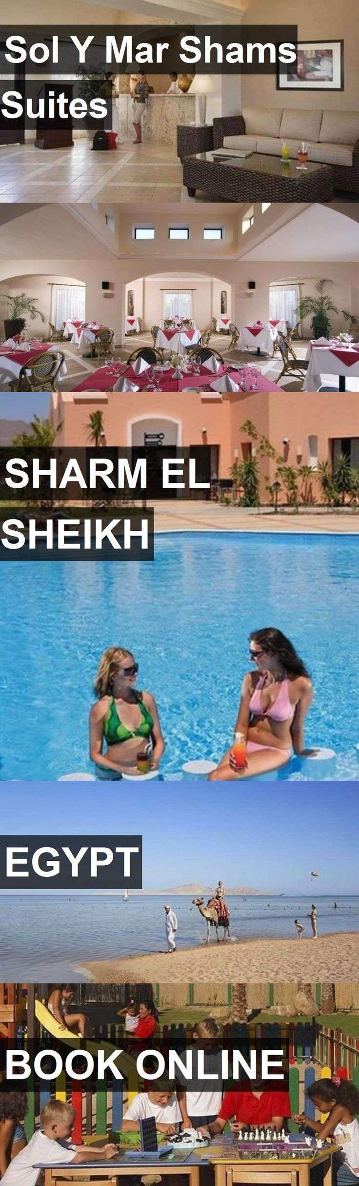 Hotel Sol Y Mar Shams Suites in Sharm el Sheikh, Egypt. For more information, photos, reviews and best prices please follow the link. #Egypt #SharmelSheikh #travel #vacation #hotel