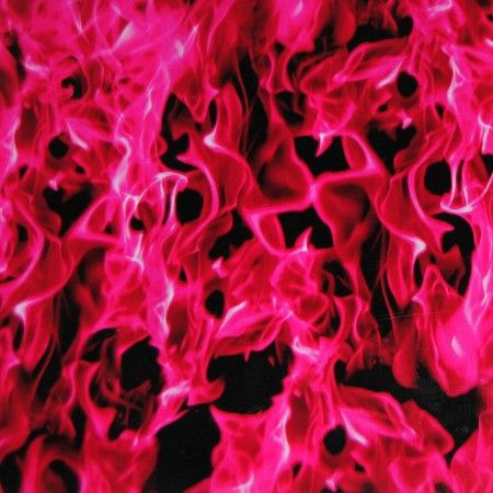 Hot Pink Flames Hydro dipping film hydrographic supply