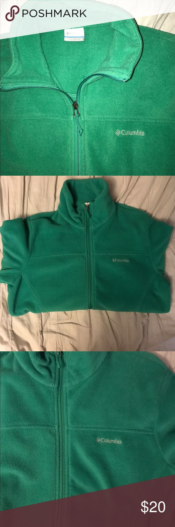 Full Zip Fleece Jacket I bought it at Nordstroms Rack. I wore it maybe once for a couple of hours. It is extremely comfortable and super light! Please don't offer to trade and let me know if you want to see more pictures! Columbia Tops Sweatshirts & Hoodies