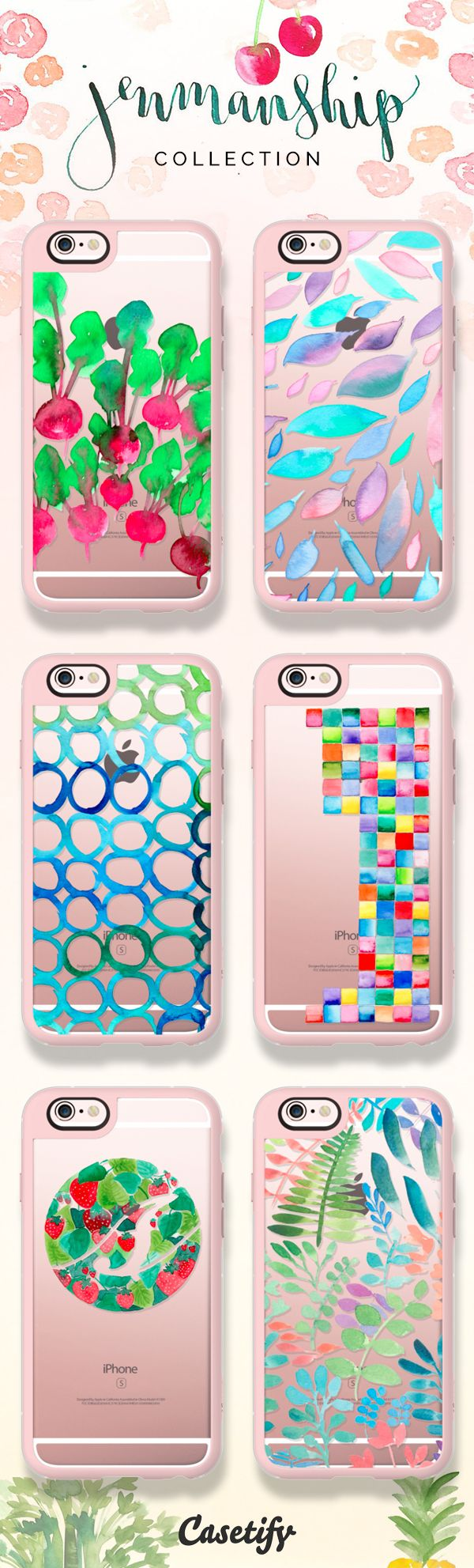 Check out these beautifully illustrated cases by Jenmanship! https://www.casetify.com/artworks/zlHwFccoD6 | @casetify