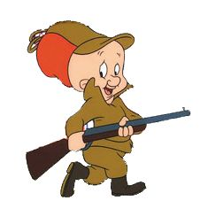shhh be very quiet, we're hunting wabbits