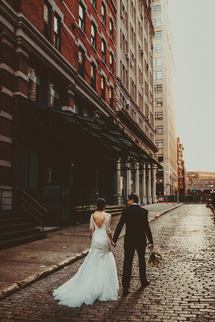 Wedding couple in Tribeca NYC; Locanda Verde wedding; PHOTOGRAPHY by Joel + Justyna Bedford;