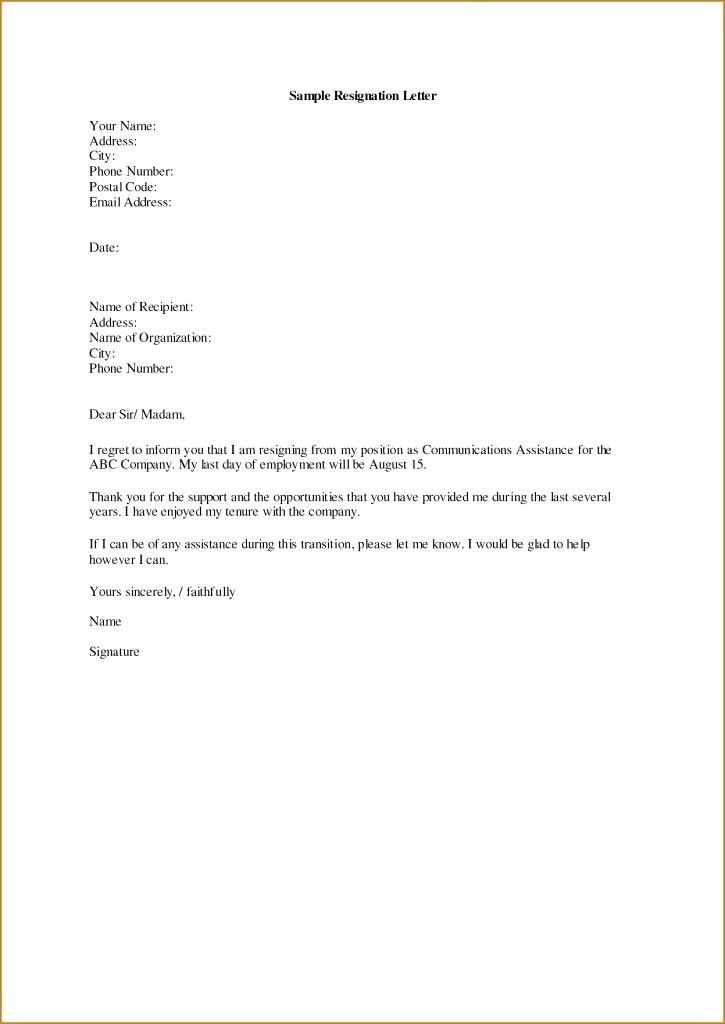 Termination Letter Template Ontario 3 Termination Letter Template
