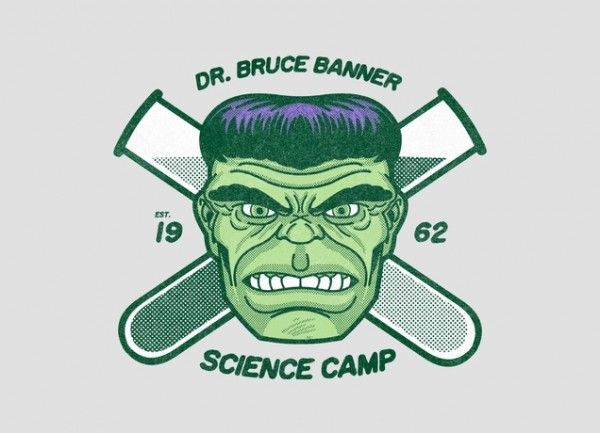 Bruce Banner's Science Camp [T-Shirt]