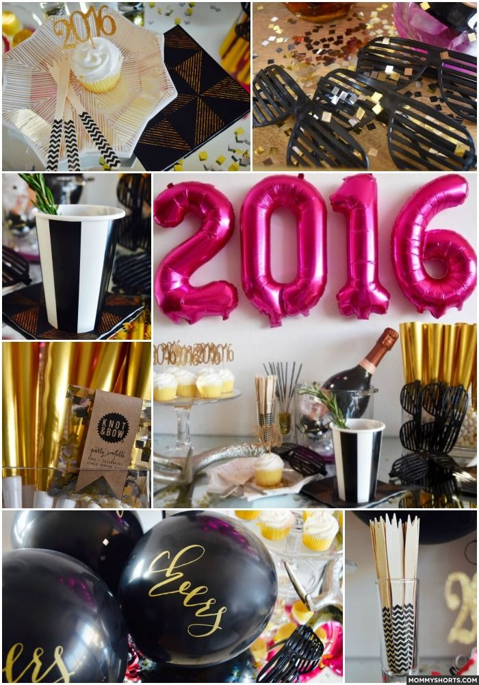 Spending New Years Eve with kids and need some New Years Eve party ideas? Click through for everything from decor to crafts!