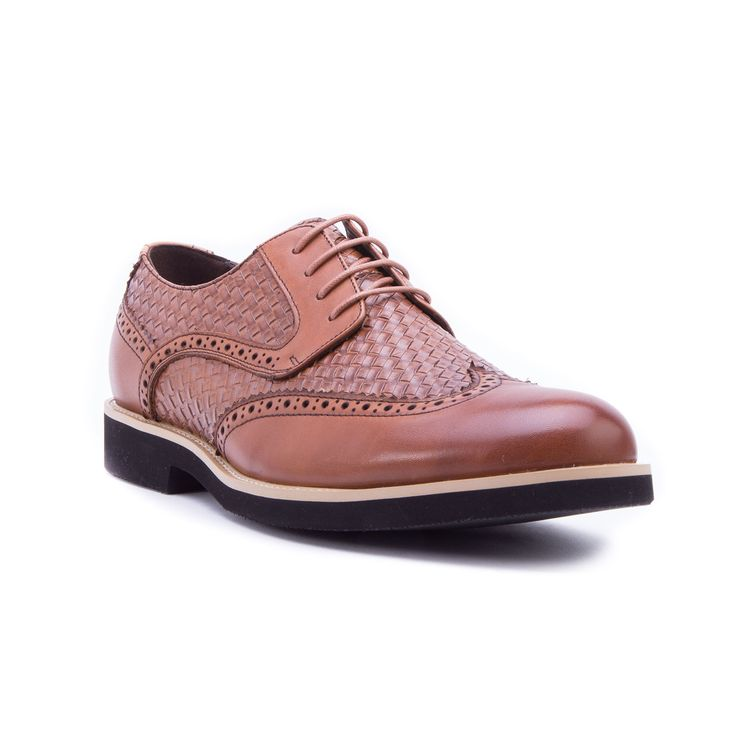 Olive Brown Oxford Shoes Dress Shoes Men Brown
