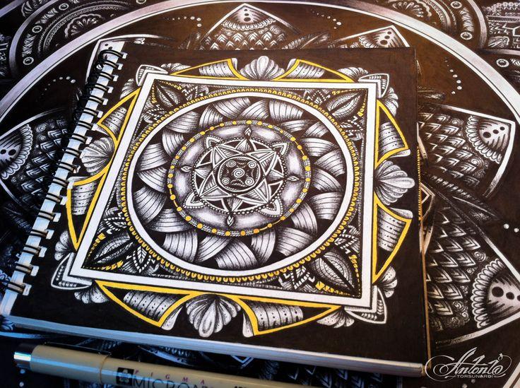 Square - Mandala ... Drawing meditation...