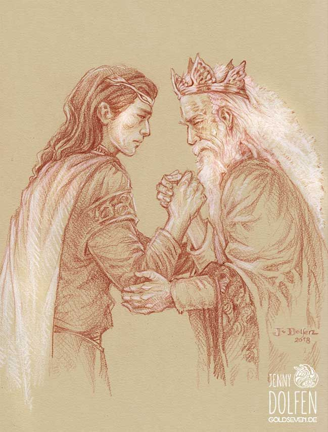 Image result for elros king of numenor donato