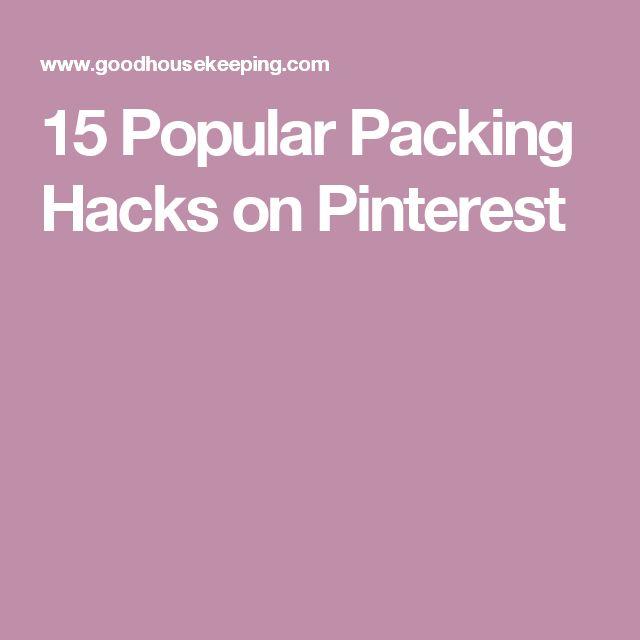 15 Popular Packing Hacks on Pinterest