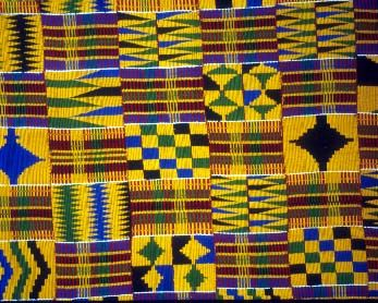 african art kente cloth - controversial history, but I have found this in many elementary art lessons.
