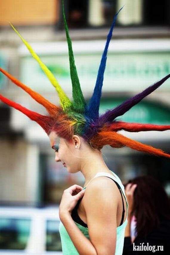 Rainbow Liberty Spikes