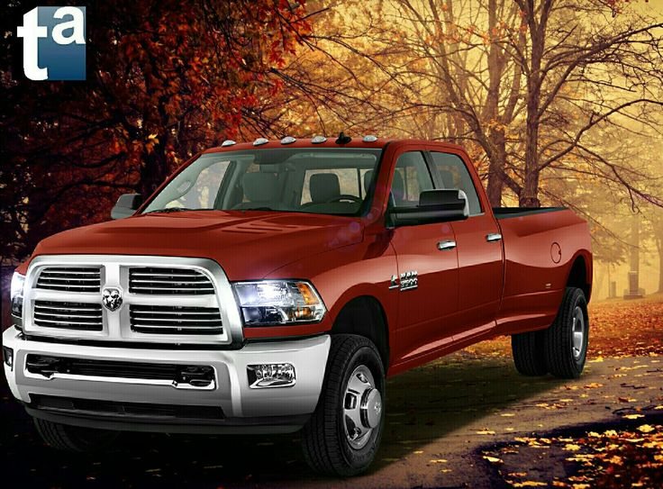 053 - #RAM #Trucks #PickUp #GCWR 3500 Laramie Red Pearl [Auto] #Automotive #Agriculture #Forest