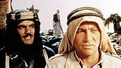 Lawrence Von Arabien Lawrence Arabia Omar Sharif, Peter O'Toole Sherif Ali Ibn El Kharish (Omar Sharif) beraet - Stock Photo