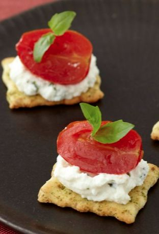Tomatoes, basil, and ricotta combine to create a classically delicious appetizer your girls will rave about!