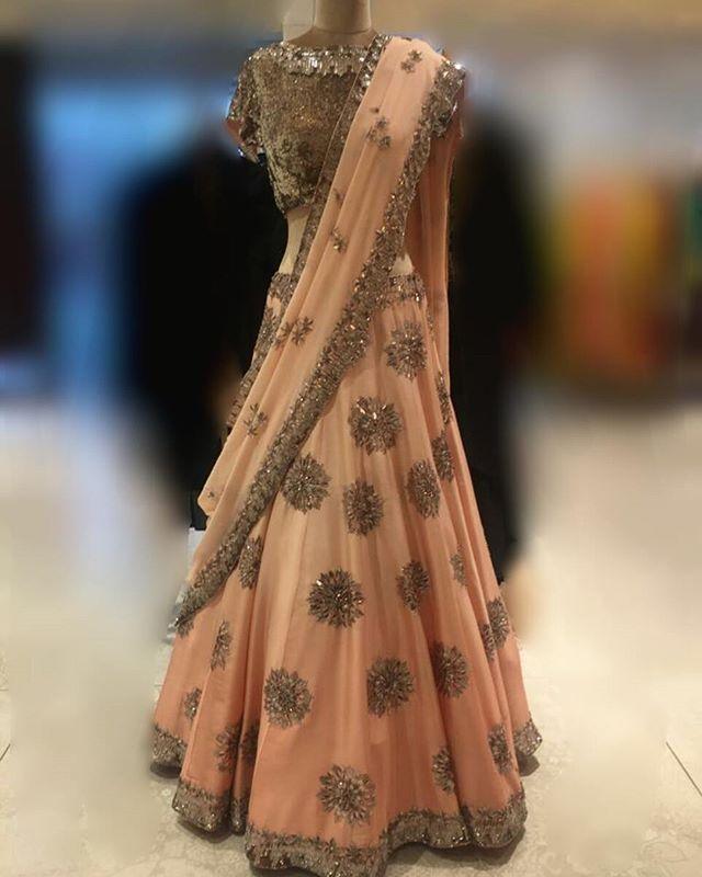 Manish Malhotra's latest couture collection arrived @elaheofficial  #manishmalhotra #manishmalhotralabel #newcollection #peach #embroidery #lehengas #kurtas #sarees #indianfashion #indianbride #bridalfashion #weddingwear #mustvist #shopnow #elahe #elahehyd #multidesignerboutique