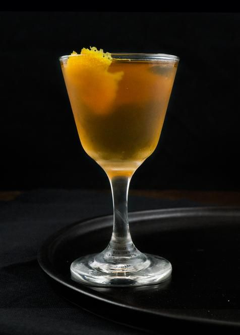 The Martinez cocktail - a beautiful and classy looking Gin-based ...