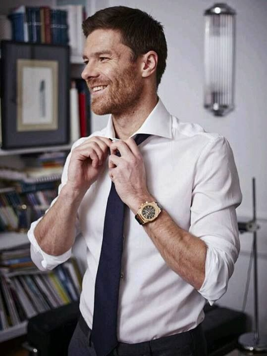 Ex Liverpool and Real Madrid player Xabi Alonso. Always 100% pure class. Gorgeous