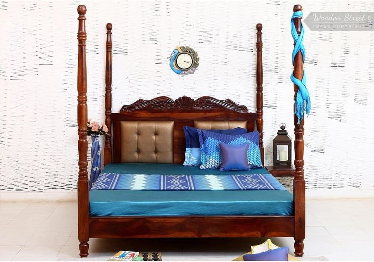 Queen Size Bed : Buy Queen Size Bed Online in India at Affordable price, shop from WoodenStreet a wide range of wooden queen size bed at 65% OFF Amazing price.