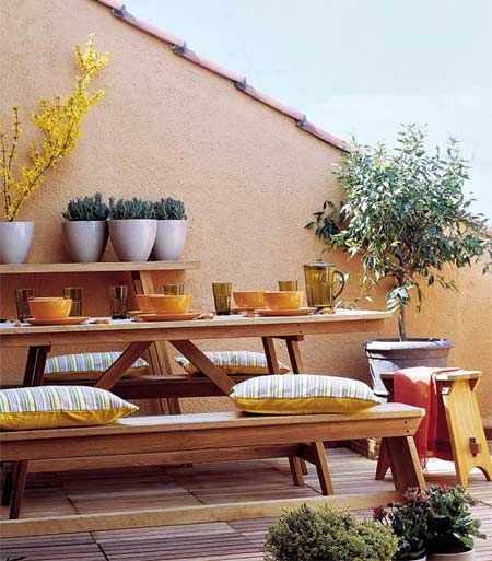 Home-Dzine - How to decorate a small balcony