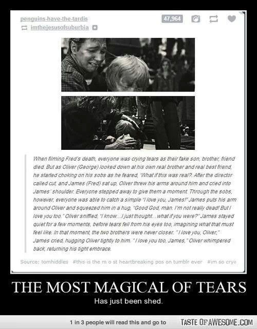 I think this has been debunked, but its still really sweet. :)