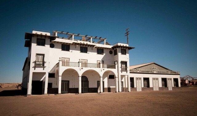 Oficina salitrero Chacabuco / Chile