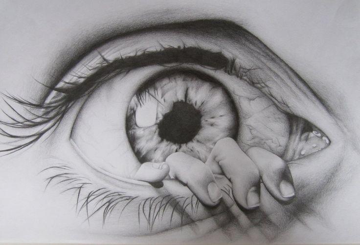 Drawings of Eyes | the eye drawing by charlottexbx fan art traditional art drawings ...