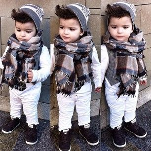 This precious boy and his perfect hair. | 21 Kids Who Were Better Dressed Than You In 2014