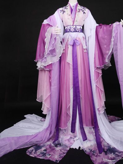 Ancient Chinese Stage Palace Costumes National Costume Halloween Costumes Hanfu…